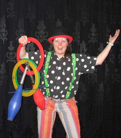 Kinderentertainment met clown kiko