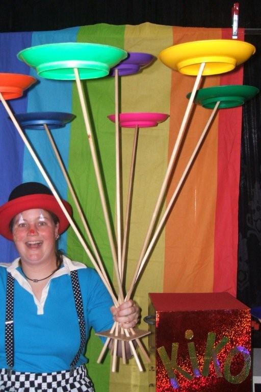 Clown Kiko kindertheater kindervoorstelling in de soep