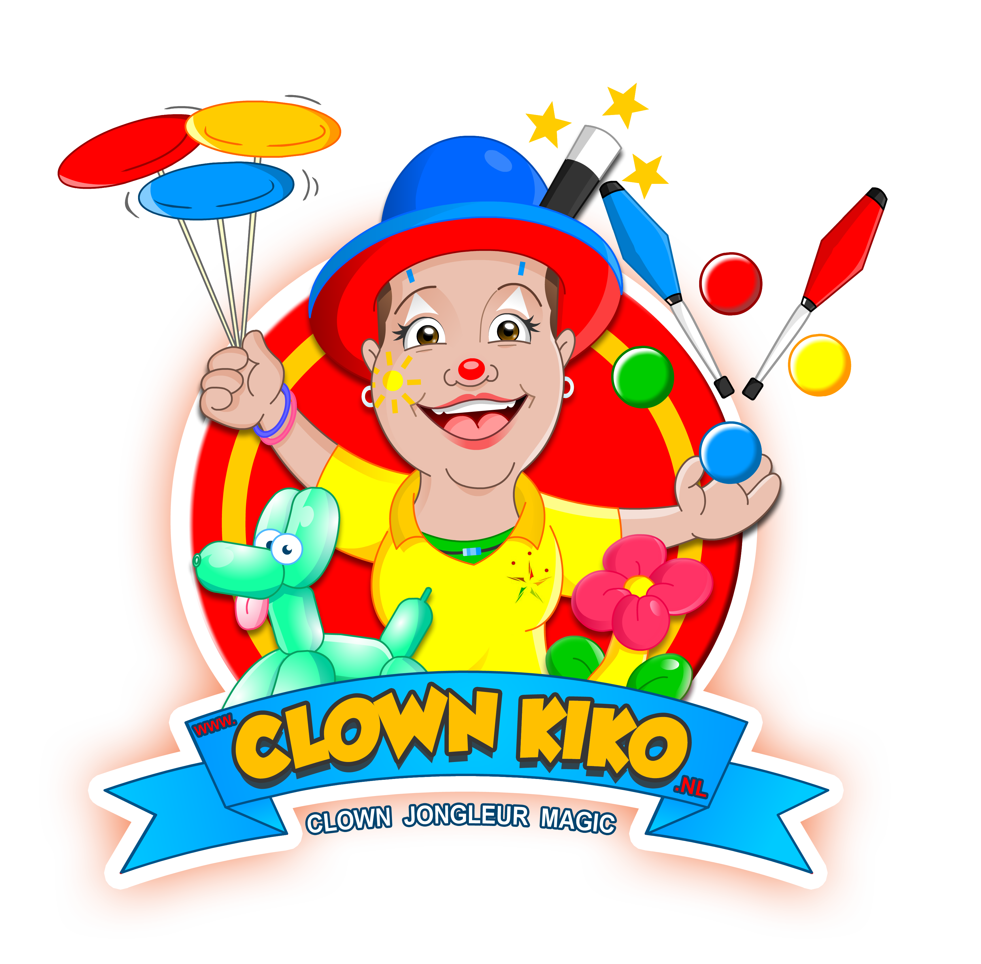 Clown Kiko - Clown Jongleur Magic
