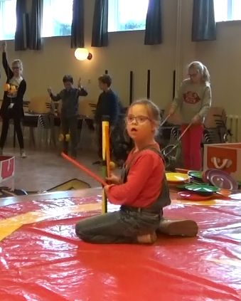 Circus Kiko Workshops op tv gelderland